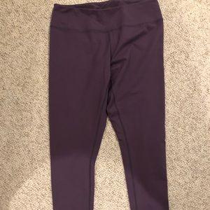 Pants - Full length purple leggings